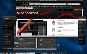 Peppermint OS running Openbox